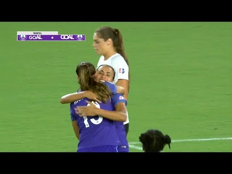 Highlights: Morgan, Marta each score twice as Pride top Sky Blue 5-0