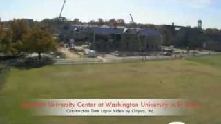 Danforth University Center Construction Timelapse - St. Louis, Mo