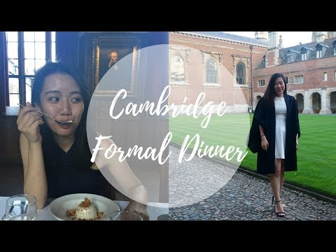 Cambridge Formal Dinner, London hangout and surprise! | Laurel Woods