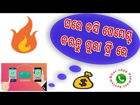 Best Payment System | What'sApp Payment Icon | Odia | By Samal Media