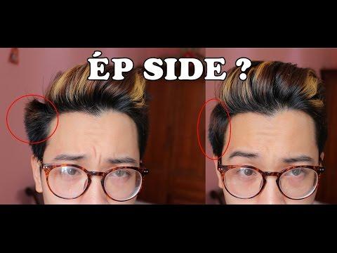 [Hướng dẫn] Cách ép side (tóc mai) vào nếp || No more tóc chỉa !