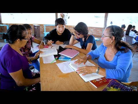 Rescuing Amazonian languages