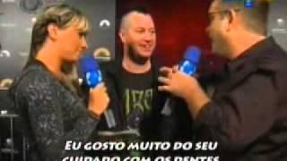 Panico na TV - Entrevista com Jackass - Aos mestres, com carinho 13/03/2011