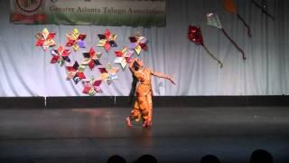 Akhilandeswari..Chamundeswari...dance performance @ GATA