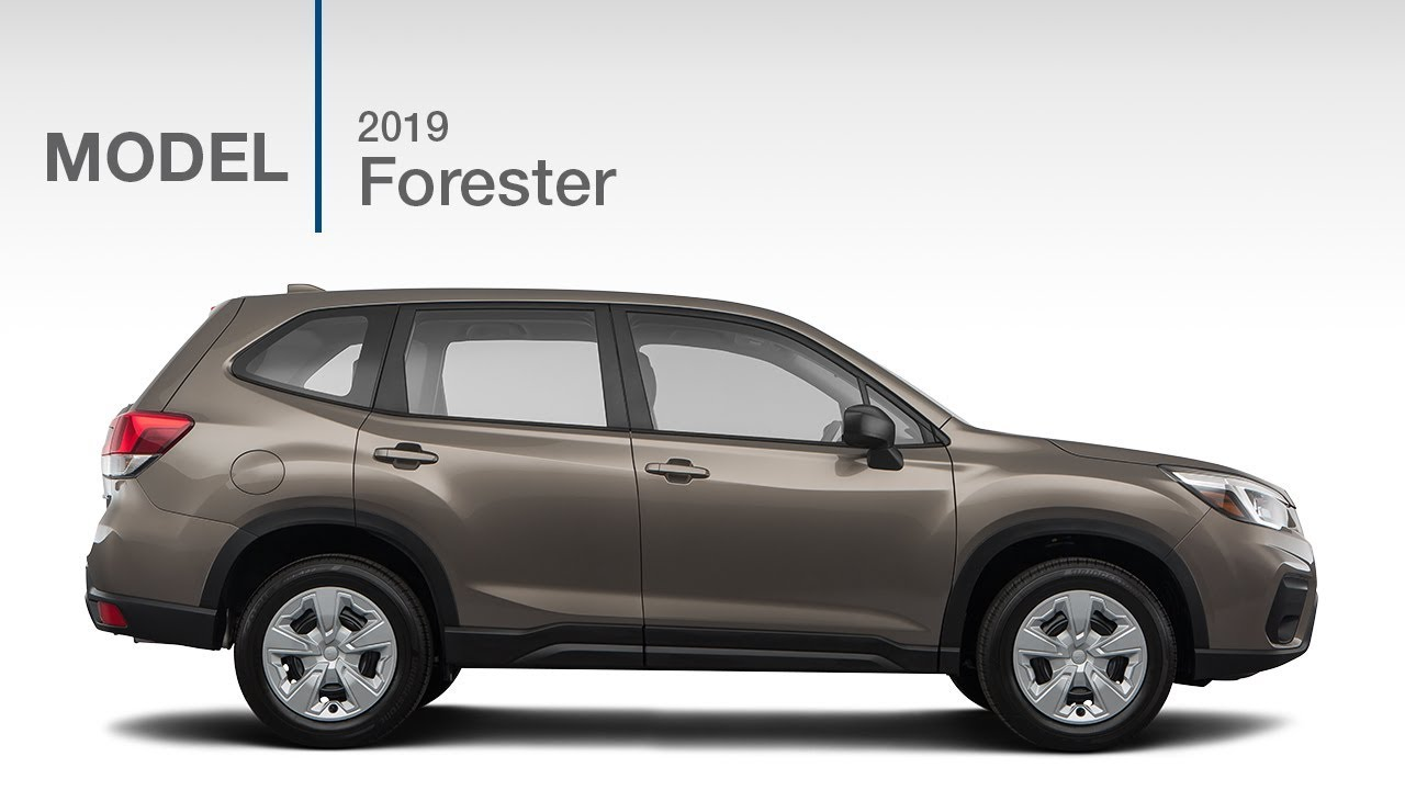 2019 Subaru Forester Base Model Review Youtube