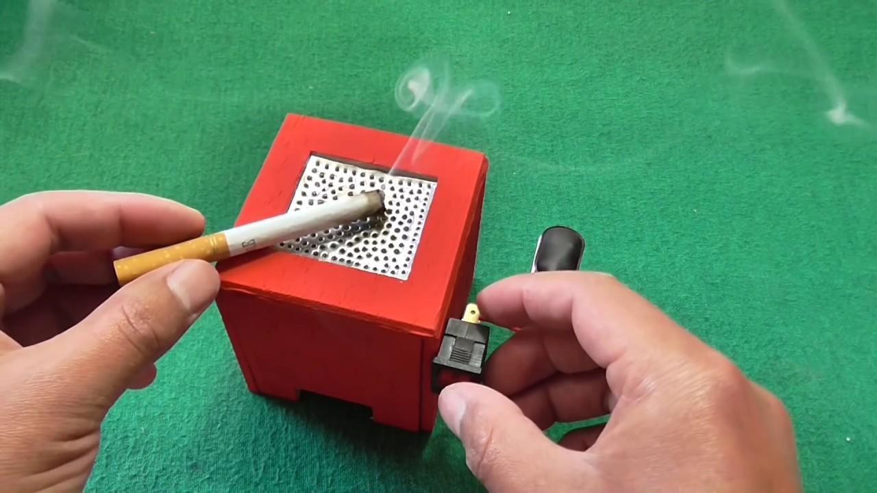Máquina Eliminador De Humo De Cigarrillo Muy Fácil De Hacer Youtube
