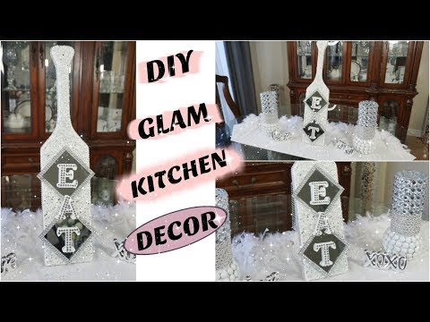 DIY KITCHEN DECOR | DIY GLAM EAT SIGN | DECORATING IDEAS 2019
