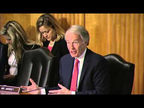 Senator Markey Discusses ISIS at Senate Foreign Relations Committee Hearing - April 12, 2016