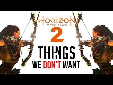Horizon Zero Dawn 2: 10 Things We DON'T Want thumbnail