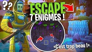 Des énigmes encore jamais vu dans cette MAGNIFIQUE Escape Game Nature sur Fortnite Créatif !