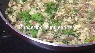 Egg Bhurji Recipe | How to make Egg Bhurji - Quick & Simple Recipe !
