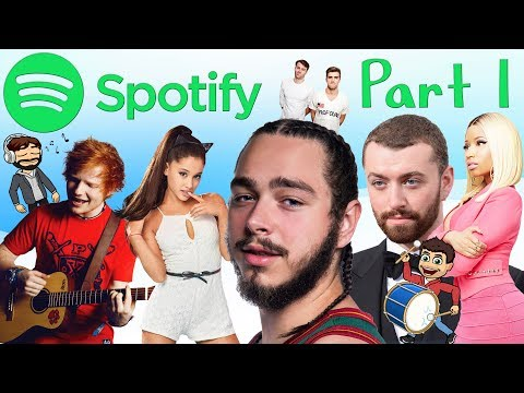 MOST POPULAR SPOTIFY ARTISTS OF 2017!!! PART 1 OF 2! Mp3