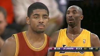 Rookie Kyrie Irving vs Kobe Bryant Full Duel Highlights 2012.01.13 - MUST WATCH!!