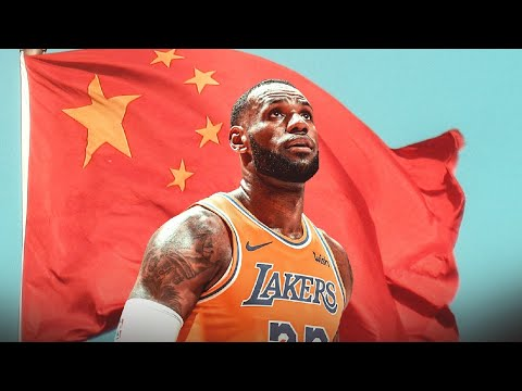 LeBron Proves He Really Is MADE IN CHINA