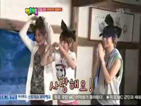 Jiyeon,IU,Nicole dance for inyoung birthday ♡