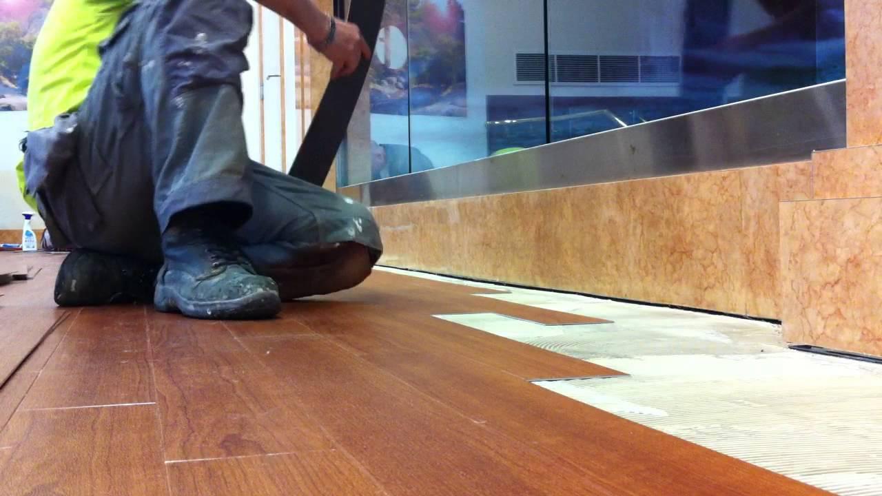 How to lay linoleum