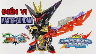 Lắp Ráp Gundam SD World Heroes Điển Vi Dian Wei Master Gundam