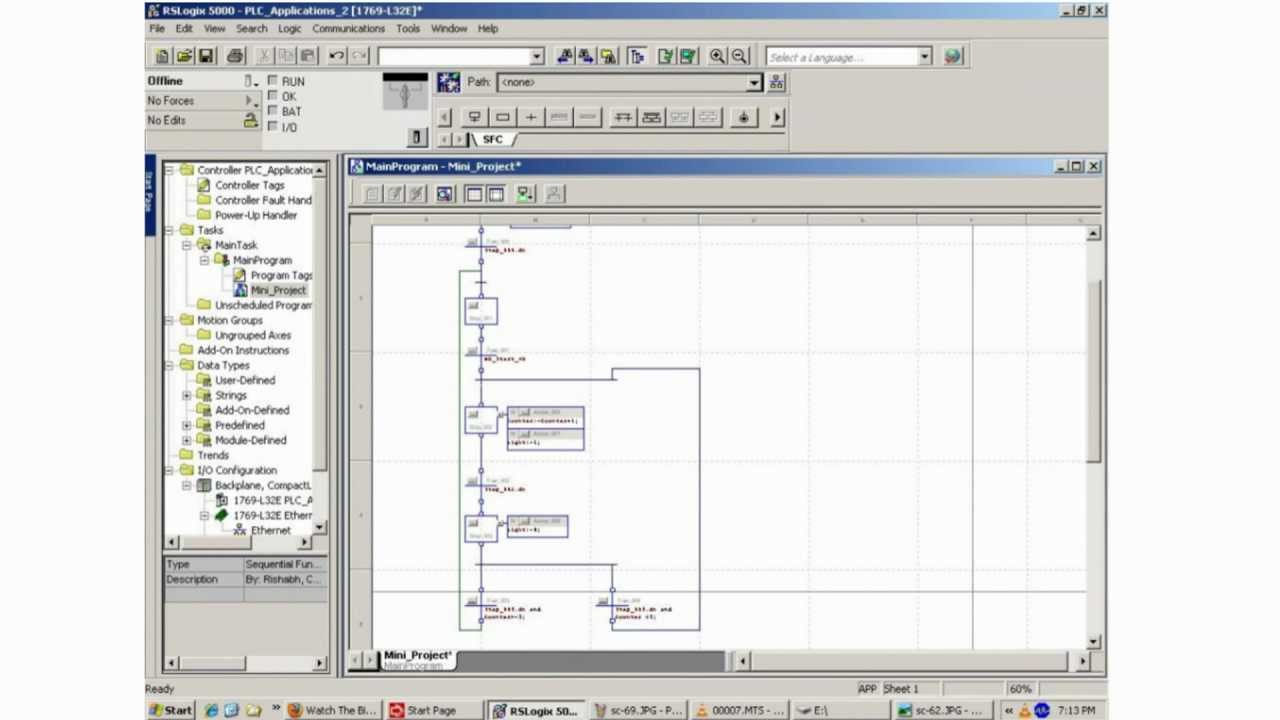 Sfc programming using rslogix 5000 hd youtube ccuart Images