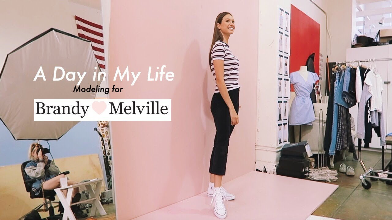 Day In The Life Of A Model Shooting For Brandy Melville