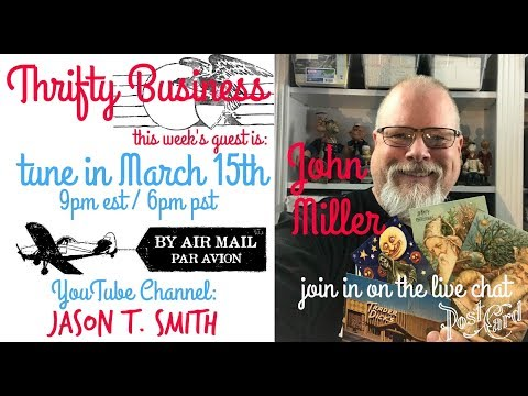 Thrifty Business Season 5 #14 John Miller How To Make A Living Selling Postcards On Ebay