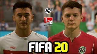 FIFA 20 | ALL BUNDESLIGA 2 & 3 PLAYERS REAL FACES