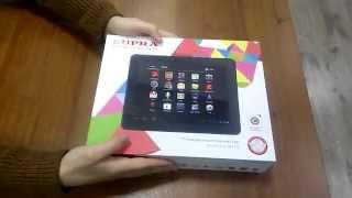 Распаковка планшета SUPRA M921G