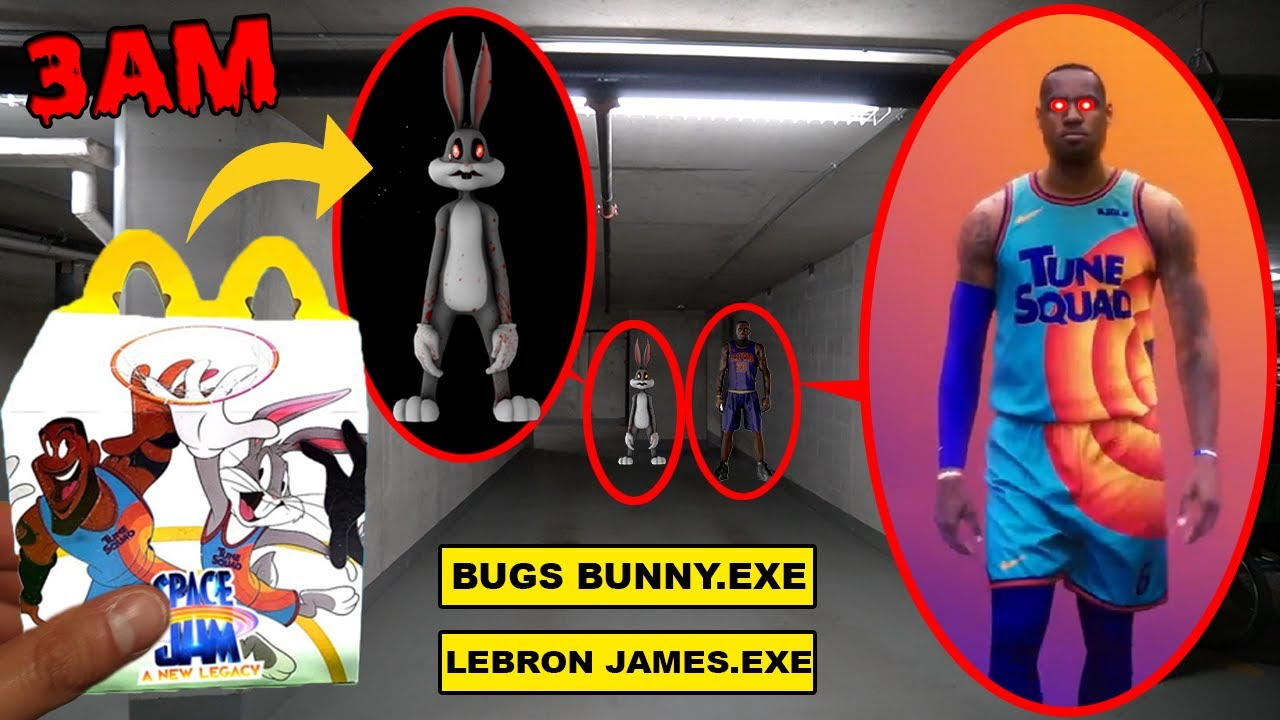 DO NOT ORDER SPACE JAM 2 HAPPY MEAL FROM MCDONALDS AT 3AM OR LEBRON JAMES.EXE BUGS BUNNY.EXE APPEAR
