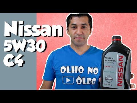 Nissan Motor Oil Synthetic 5W30 DPF ACEA C4