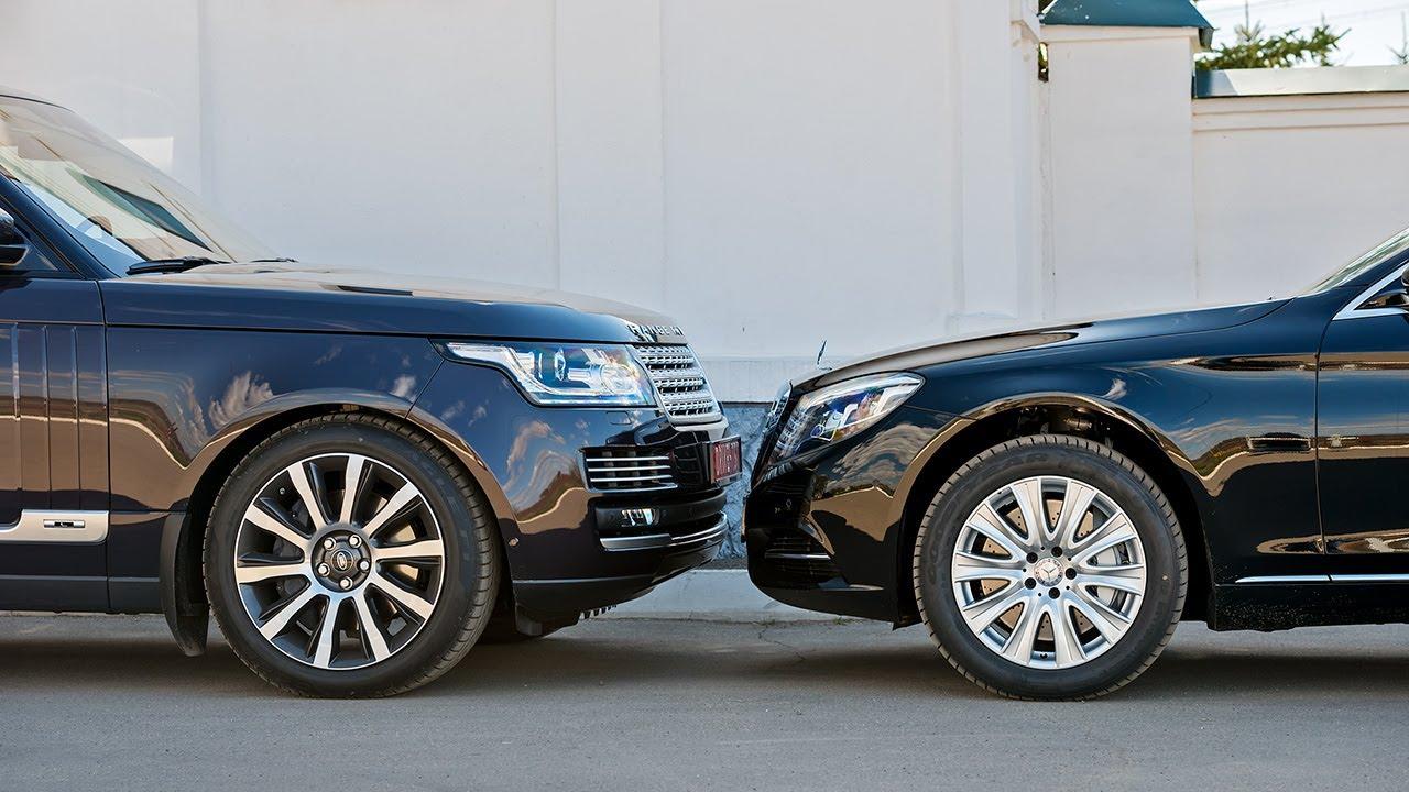 Range Rover Lwb 2014 Vs Mercedes S 500 L За кадром
