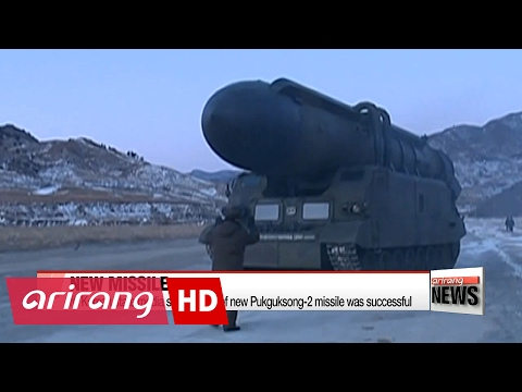 N. Korea says test of new ballistic missile was successful