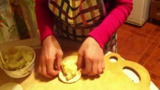 Пирожки с картошкой. Маленький поваренок