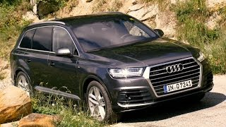 2016 Audi Q7 Daytona Grey Drive and Exterior