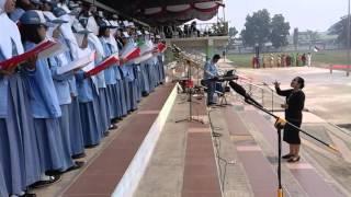 Indonesia Bersatulah - Paduan Suara SMAN 1 Kuala Kapuas
