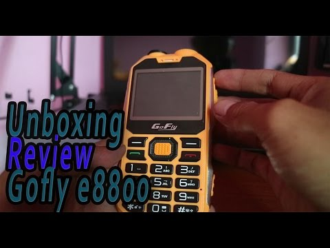 RUGGED PHONE | GOFLY E8800 | UNBOXING & REVIEW | INDONESIA
