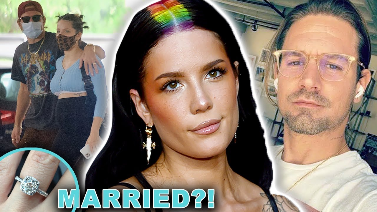 Halsey & Baby Daddy Secretly ELOPED!   Hollywire