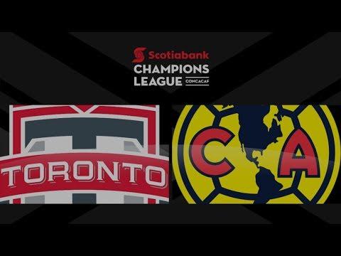 Champions League Match Highlights: Club América at Toronto FC (Leg 1)