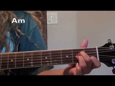 StitchesShawn Mendes Guitar Tutorial easy and advanced