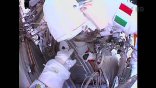 Spacesuit Leak - Astronaut Reports Floating Water   Video