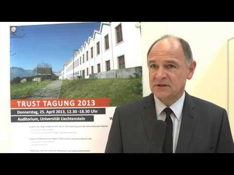Trust Tagung 2013 - Universität Liechtenstein
