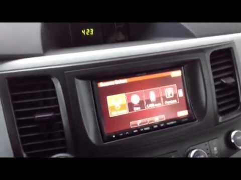 2011 Toyota Sienna Alpine Ina W910 Navigation Bluetooth