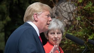 Donald Trump, Theresa May appear amid tensions: full news conference