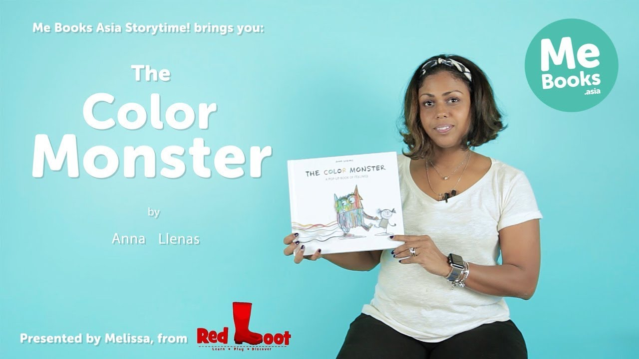 The Color Monster A Pop Up Book Of Feelings By Anna Llenas 9781454917298 Me Books Collection