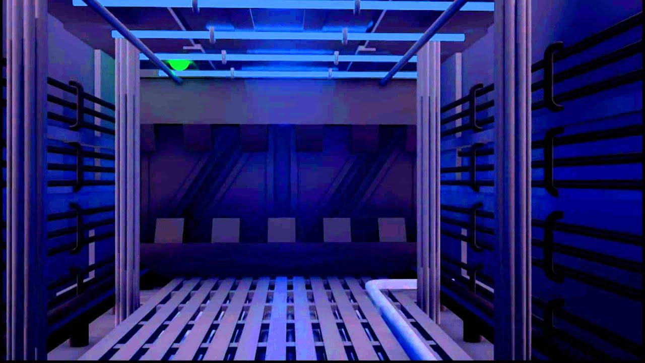 Porte automatique style futuriste youtube for Actigramme a 0 porte automatique