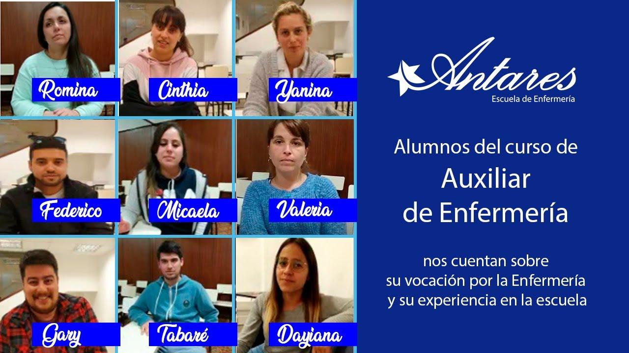Curso Auxiliar De Enfermería Antares
