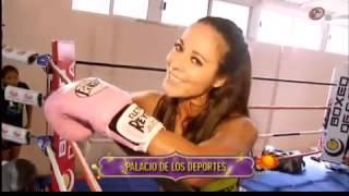 RBK entrana box con Mariana Juarez