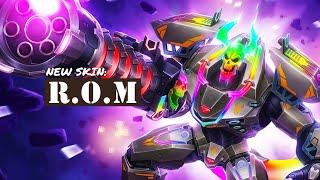 NEW RAUM SKIN: R.O.M. | Paladins Malaysia