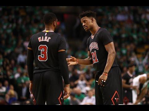 Jimmy Butler, Rajon Rondo, and Dwyane Wade Lead Bulls To 2-0 Series Lead! | April 18, 2017