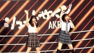170625 気まぐれオンステージ 福岡聖菜 久保怜音.