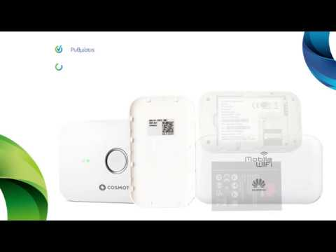 COSMOTE Hints & Tips - Pocket Wi-Fi HUAWEI E5573c 4G καθοδήγηση για το UI
