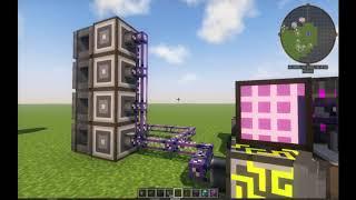 полный автокрафт процессоров в minecraft (Applied energistics 2)